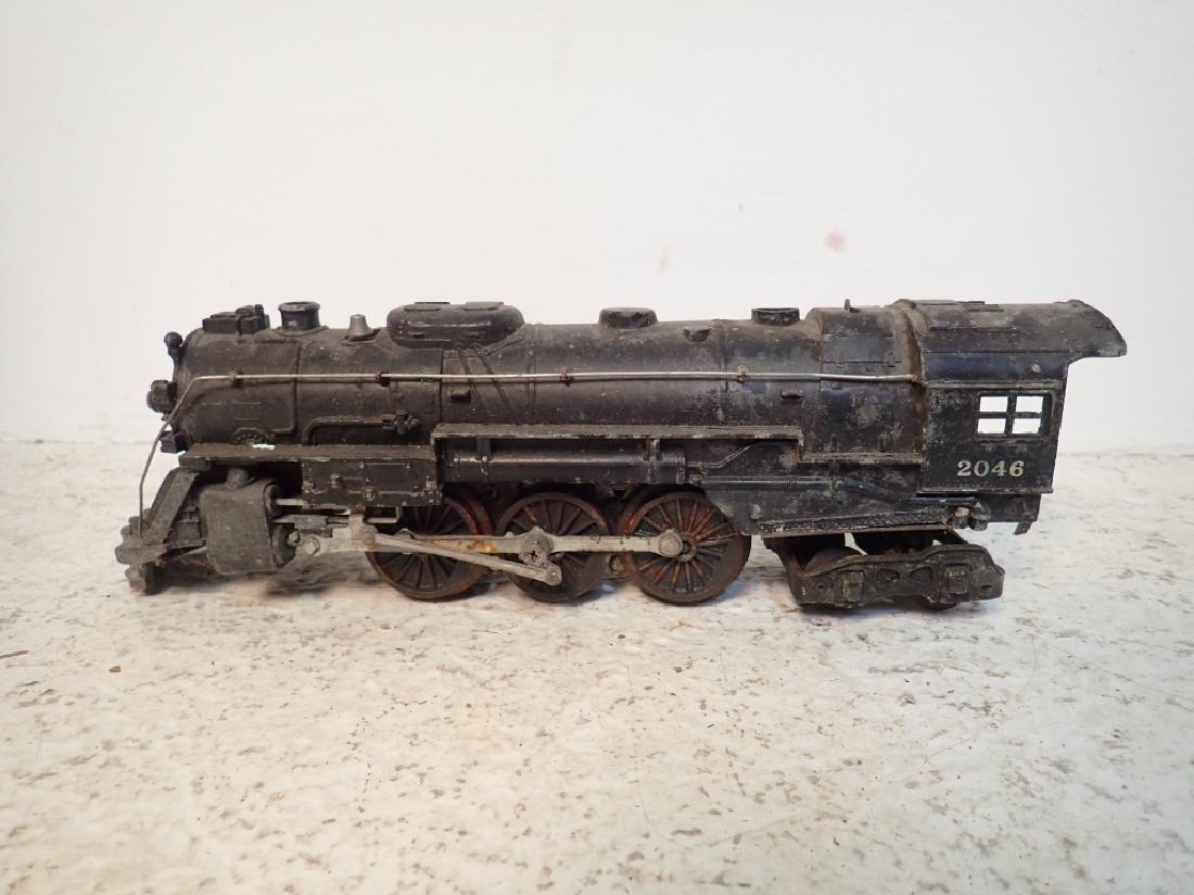 Lionel No. 2046 Engine and 2 Lionel Traincars - 5