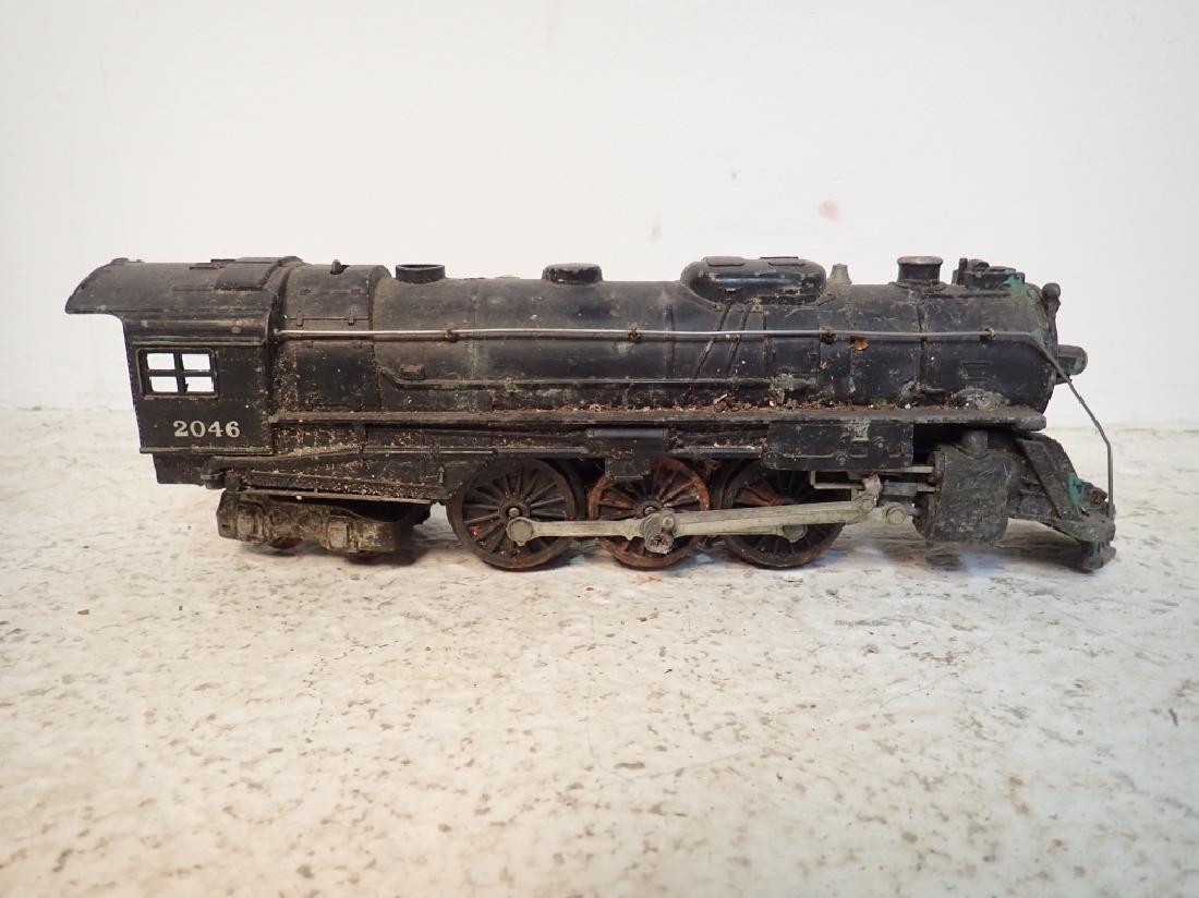 Lionel No. 2046 Engine and 2 Lionel Traincars - 6