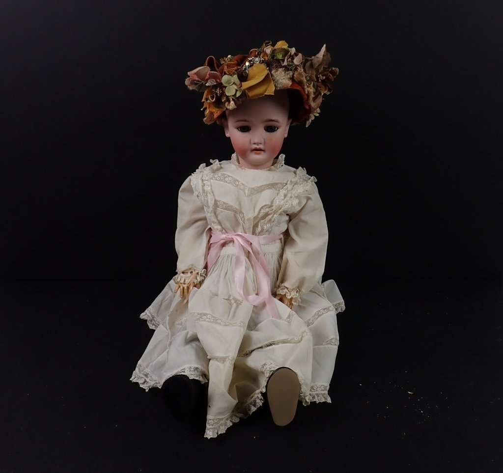 C. M. Bergmann Simon and Halbig Porcelain Doll