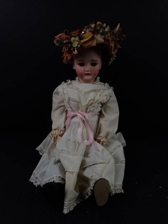 C. M. Bergmann Simon and Halbig Porcelain Doll - 4