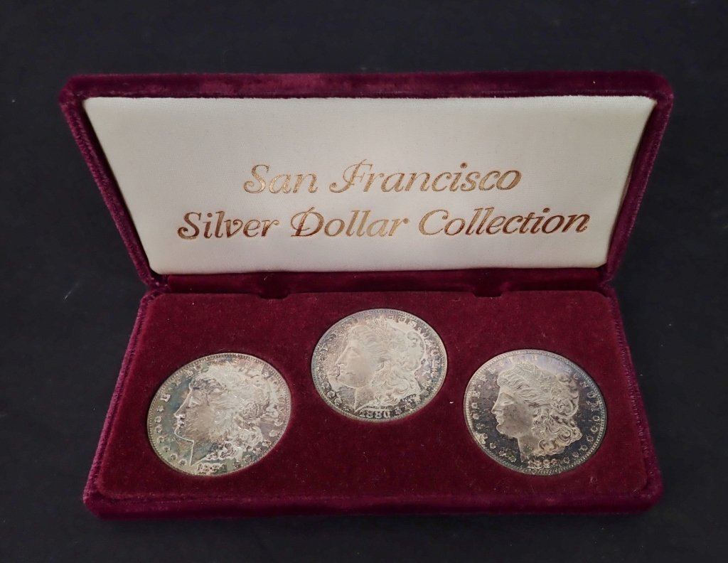 San Francisco Morgan Silver Dollar Set
