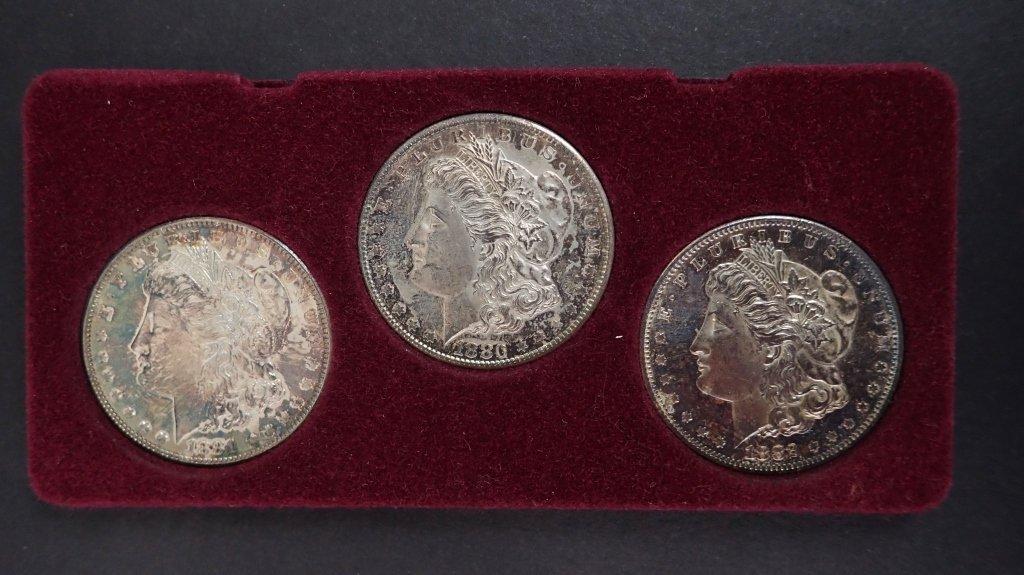 San Francisco Morgan Silver Dollar Set - 8