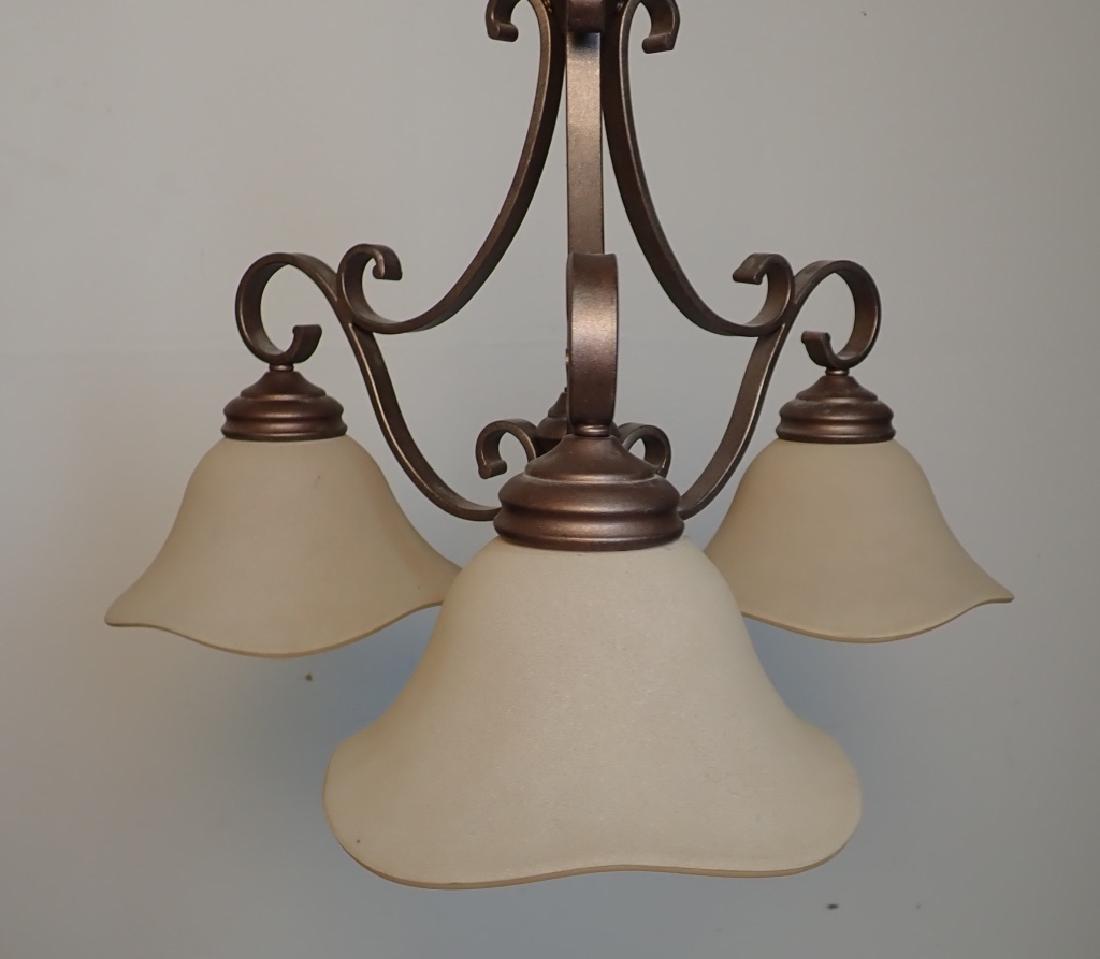 3-Light Hanging Chandelier