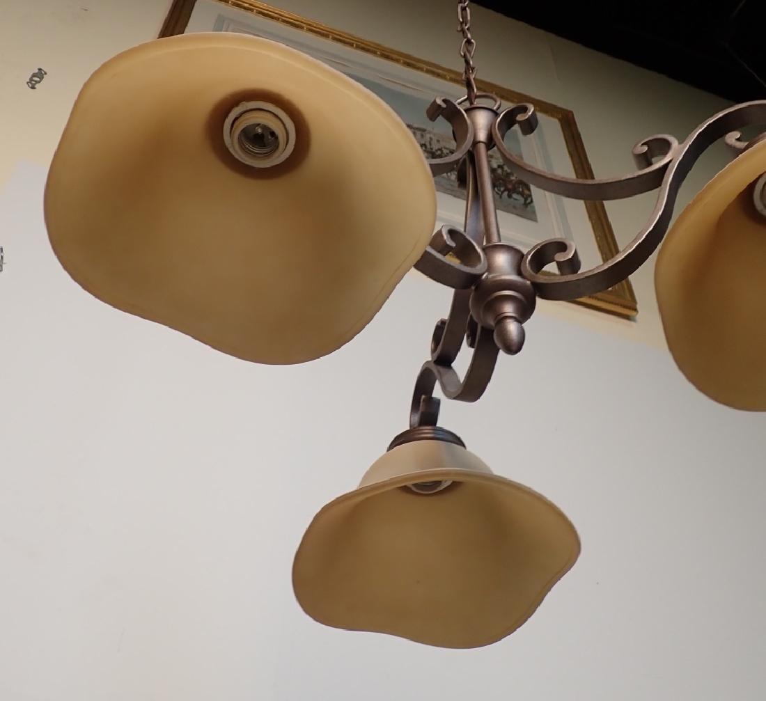 3-Light Hanging Chandelier - 5