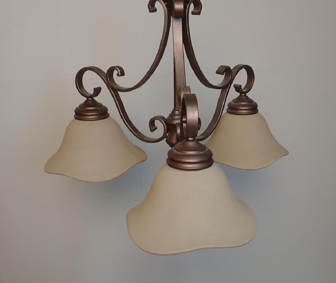 3-Light Hanging Chandelier - 7
