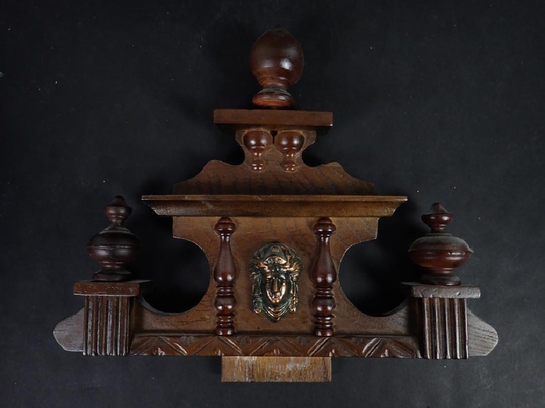 Vintage Wooden RA 31 Day Pendulum Clock - 4