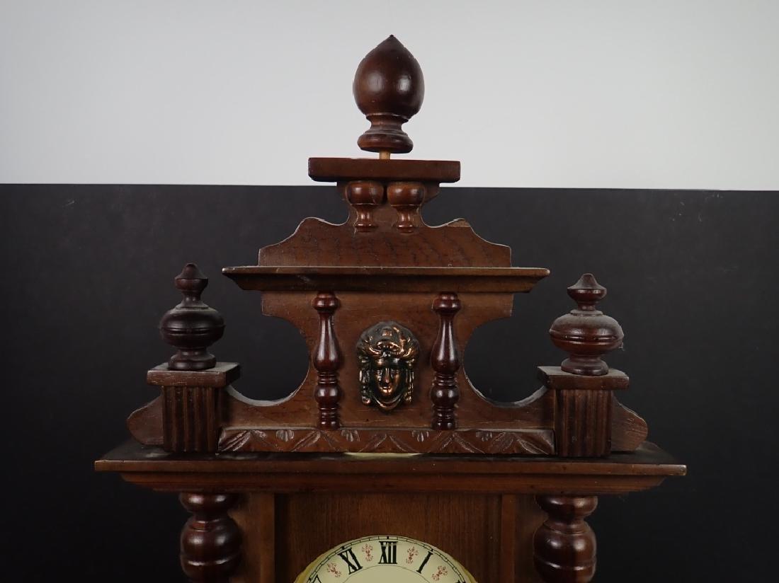 Vintage Wooden RA 31 Day Pendulum Clock - 5