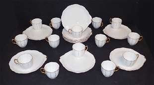 Royal Albert Fine China Snack Plates & Cups