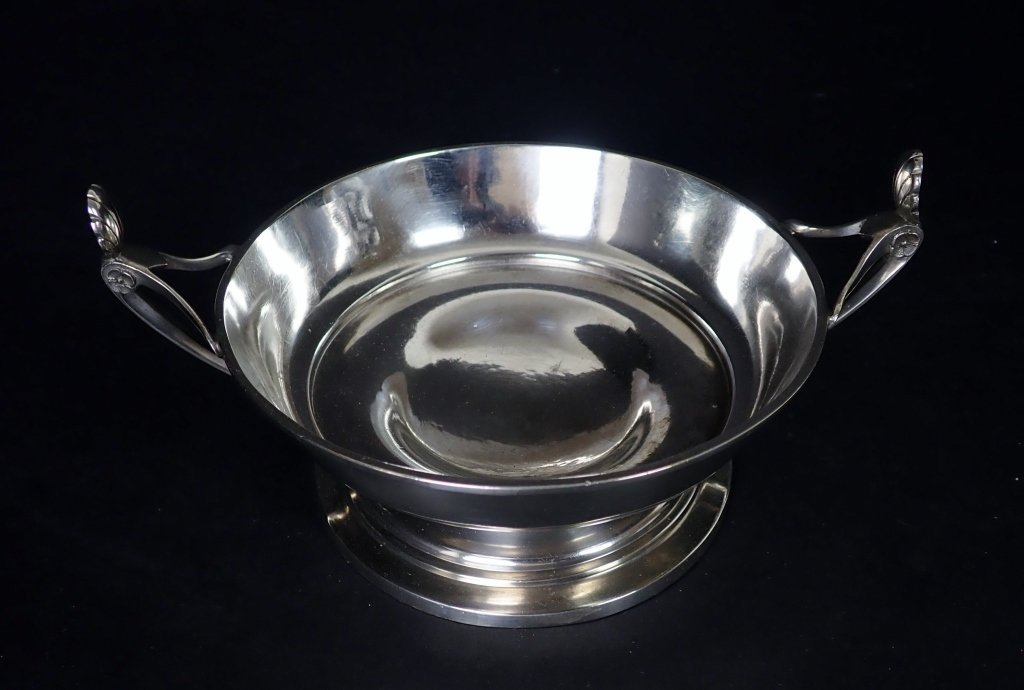 Sterling Silver Footed Bowl by Ball, Black & Co NY