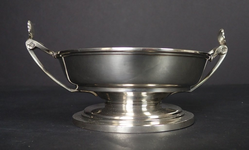 Sterling Silver Footed Bowl by Ball, Black & Co NY - 3