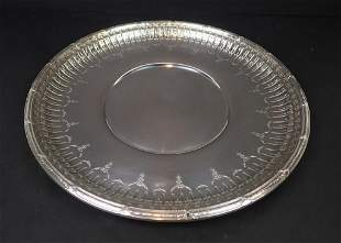 Marie Antoinette Sterling Silver Tray by Gorham