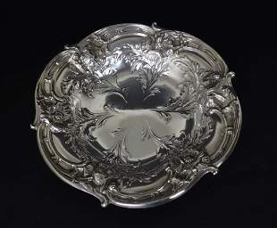 Reed and Barton Repousse Sterling Silver Bowl