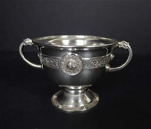 Finnigans Manchester Sterling Silver Trophy Cup