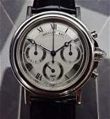 Breguet Marine Chronograph 483 Platinum Watch