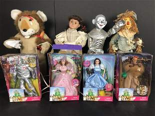 Wizard of Oz Doll Collection, Barbie & Animated