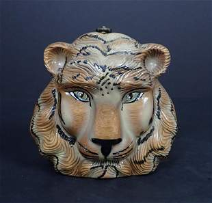 Vintage Timmy Woods Tiger Purse