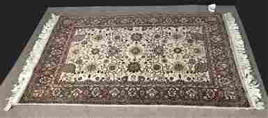 Vintage Fine Indo Sarouk Rug