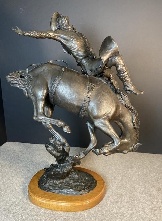 Jack Bryant (1929 - 2012) Western Bronze