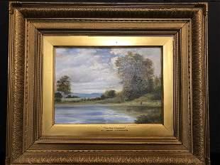 """Henry H. Parker """"On the Thames"""