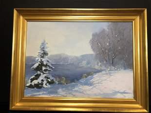 Robert Waltsak Winter Scene