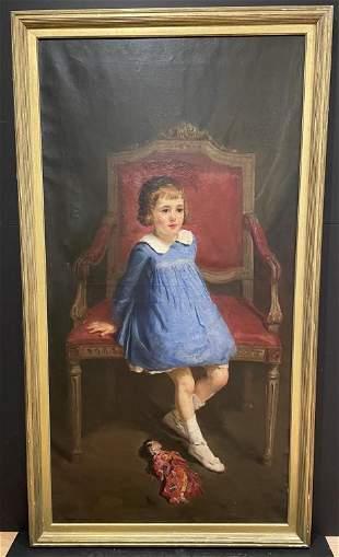 Antonio Barone Young Girl (1889-1971) American