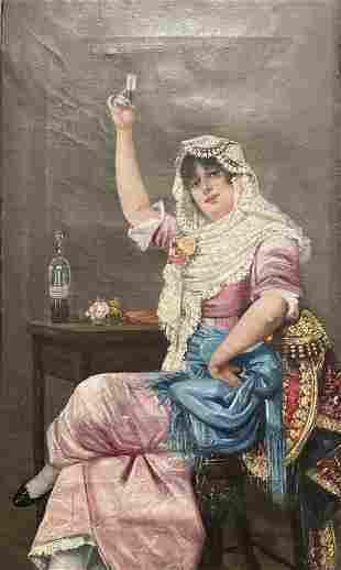 19th Century Portrait of a Lady O/C