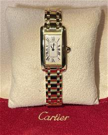 Cartier Ladies Tank Americaine 18K Watch