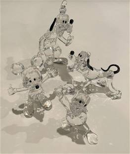Lot of 4 Swarovski Disney Figures