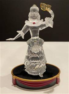 Swarovski Masquerade Columbine Figurine