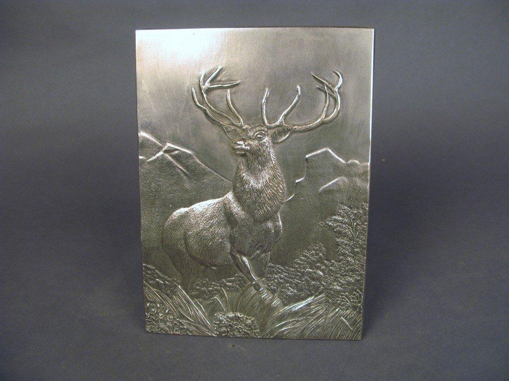 18: Deer plaque
