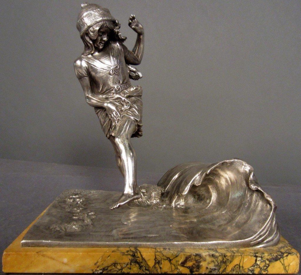 2: P. Ponsard (1882-1915) French, Art deco bronze