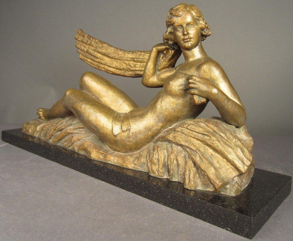 11: Signed Sellar, Art Deco Bronze, circa 1920