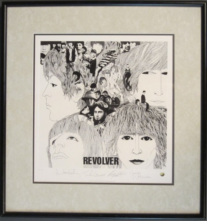 2: Beatles Limited Edition Lithograph Print, 1993