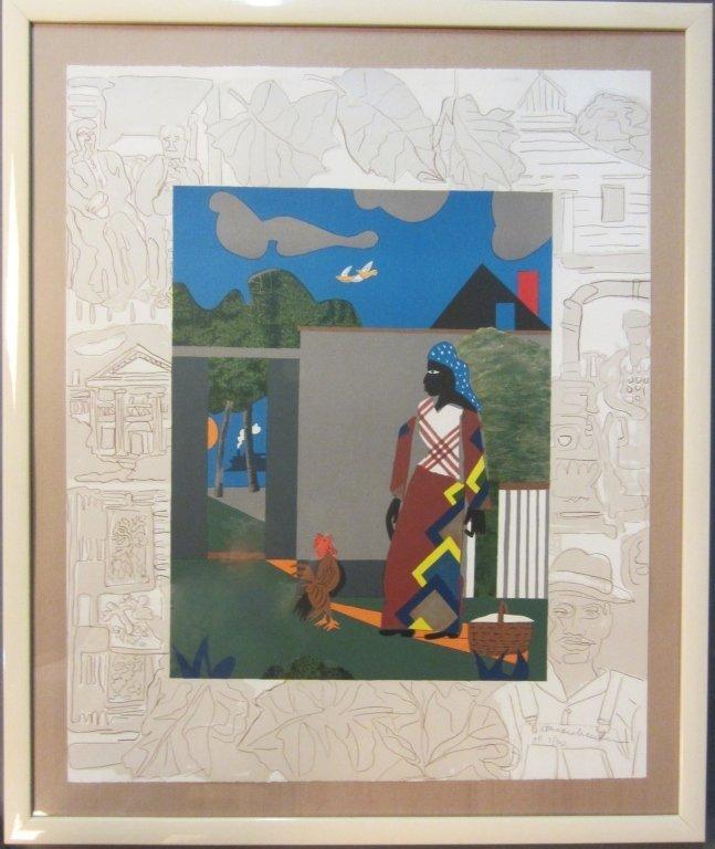 3: Romare Bearden, American (1911- 1988)