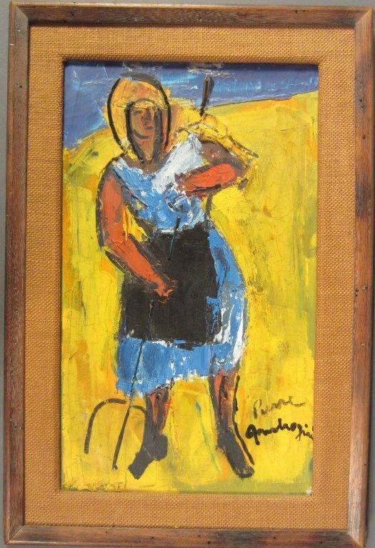 18: Pierre Ambrogiani, French (1907-1985)