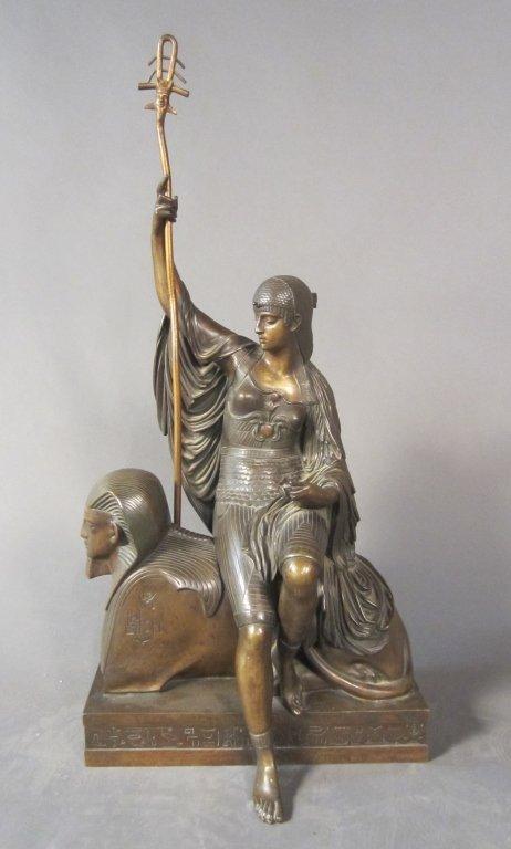 316: Louis Jules Franceschi, French (1825-1893) Isis