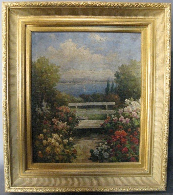 Contemporary Garden Scene