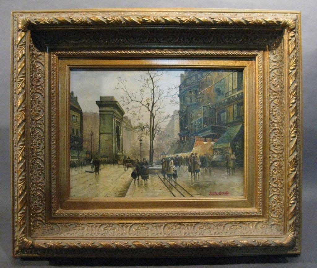 Contemporary Parisian Street Scene