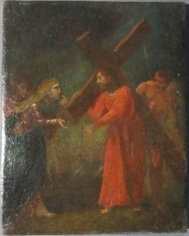 Station of the Cross, Italian 17th C