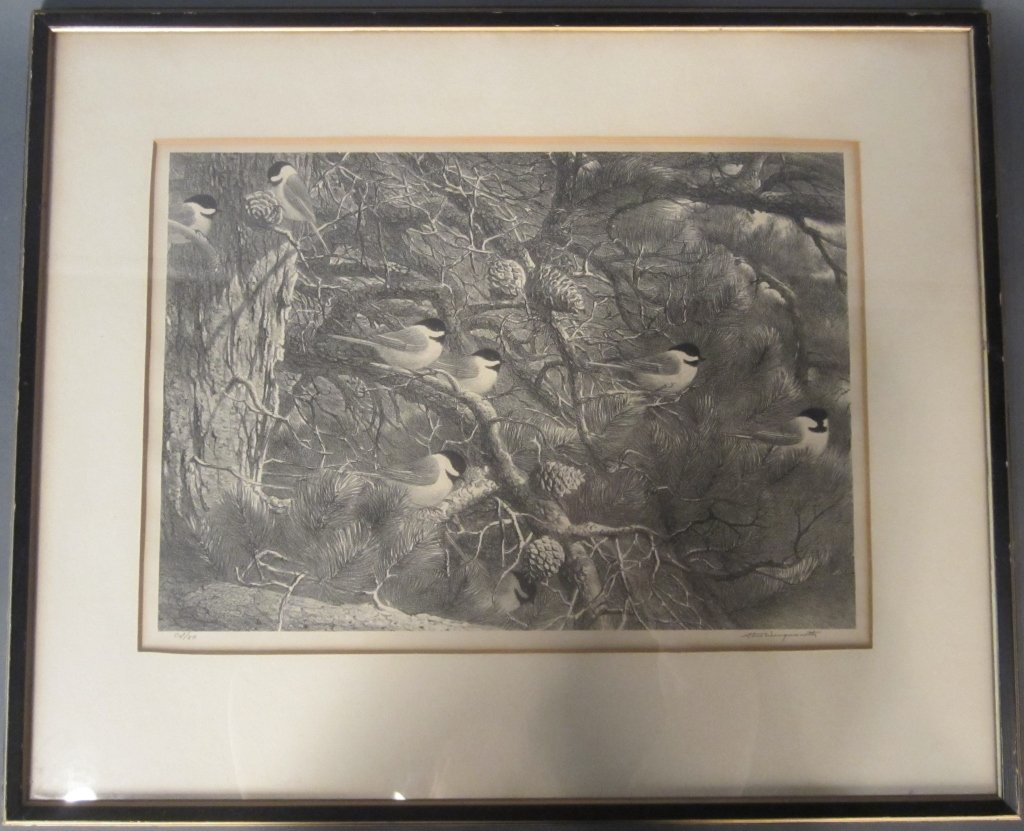 5: Stow Wengenroth, American (1906 - 1978) Lithograph