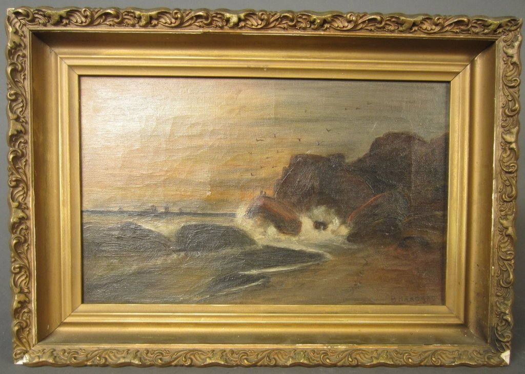 18: Oceanscape, signed: B. Hardgrove
