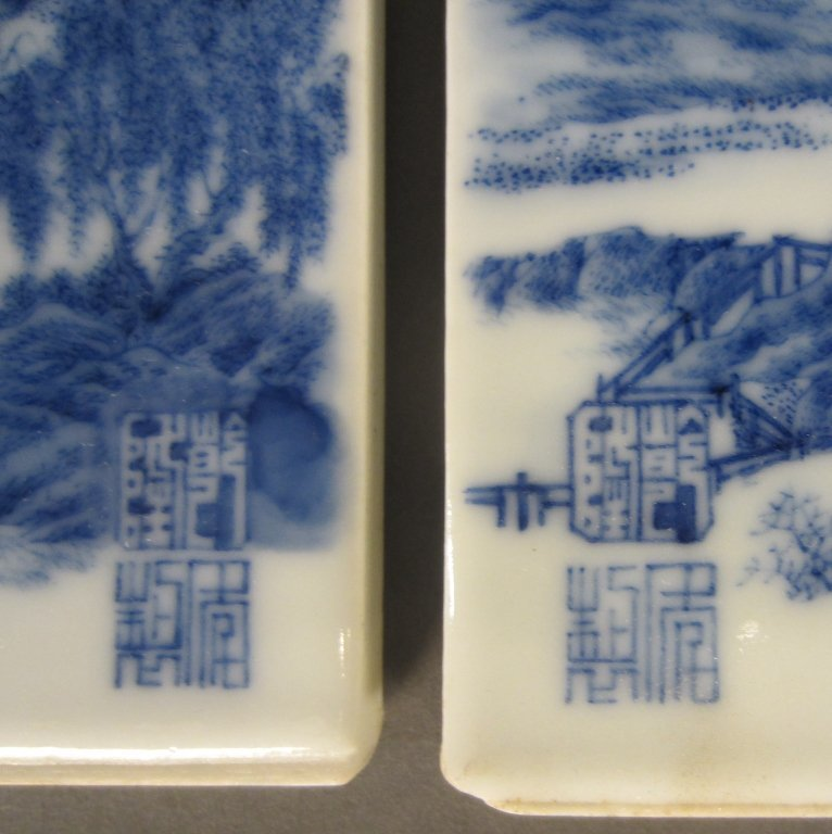 239: 3 Chinese Porcelain Plaques - 3