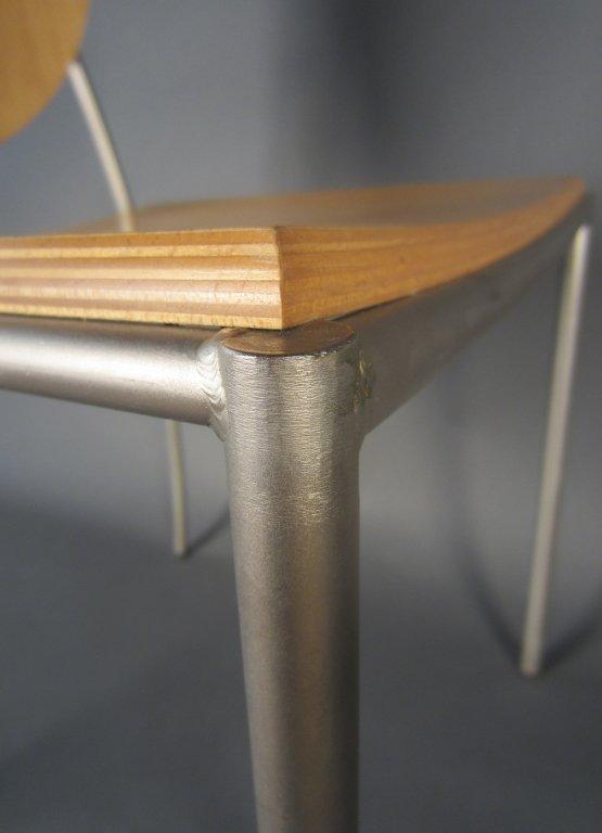 Pair Dakota Jackson Vik-ter II Stacking Chairs - 5