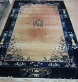 Oriental Art Deco Rug