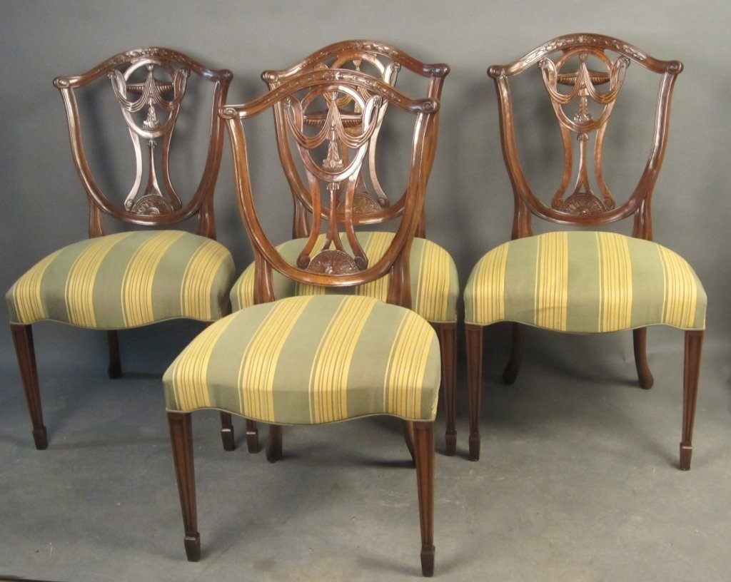 Set of 4 Federal Style Side Chairs