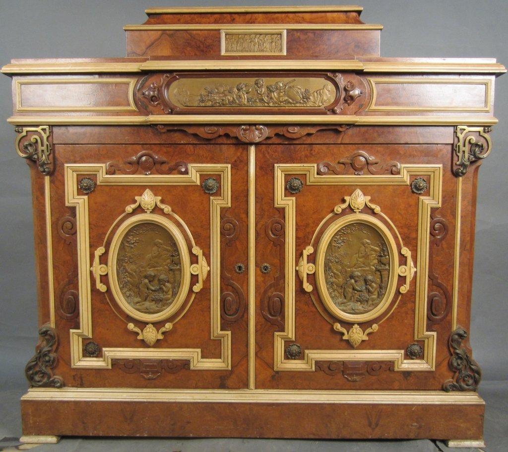 American Ren. Revival Cabinet, Attrib: Herter