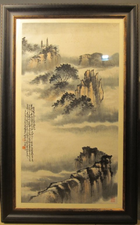 Signed Antique Chinese Painting