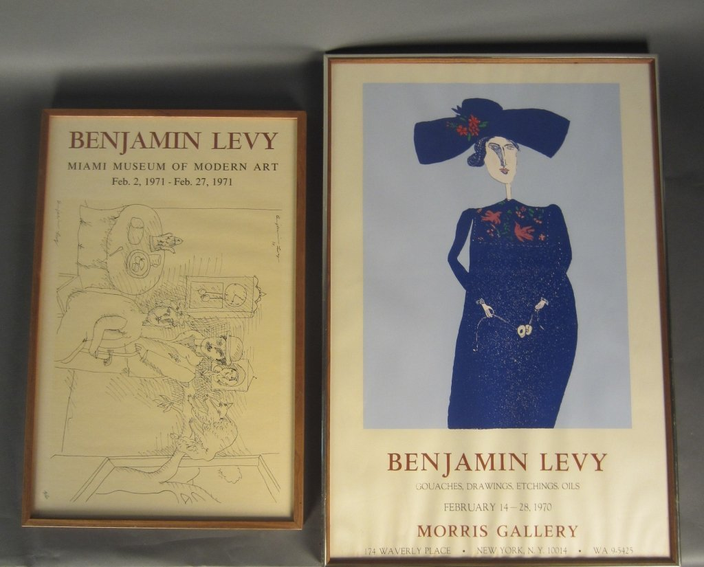 Benjamin Levy, American (1940- )