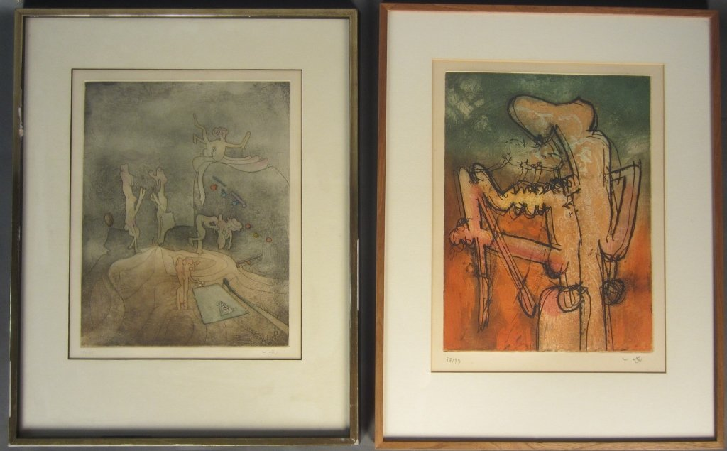 Collection of 2 Signed Prints