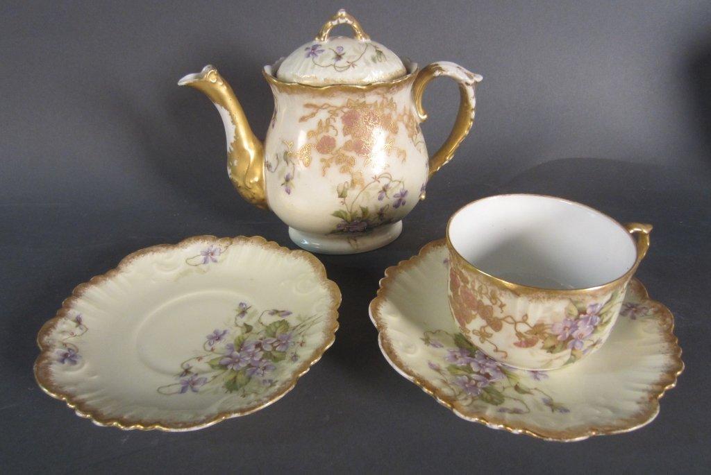 Collection of Antique Limoges Porcelain
